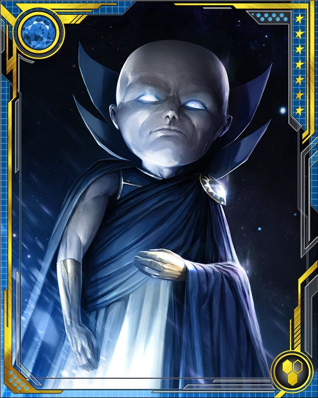 Uatu's eyes contain a perfect record of all he has ever seen. They also are the source of many of his powers. He keeps a collection of fantastically advanced technology, which made him the target of an assault and robbery by Doctor Midas and Orb.