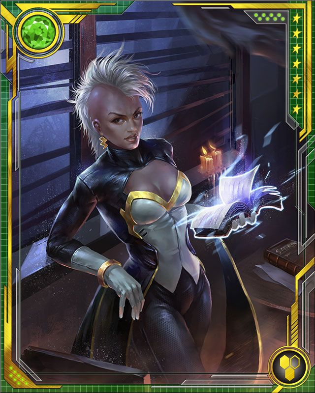 Following the Avengers-X-Men battle, Storm briefly joined X-Force. Soon she was in charge of her own new X-Men team, the first all-woman version of the team. The personnel and mission were similar to her former Utopia Security Team, and their first important fight was against the Sisterhood and the Arkea virus.