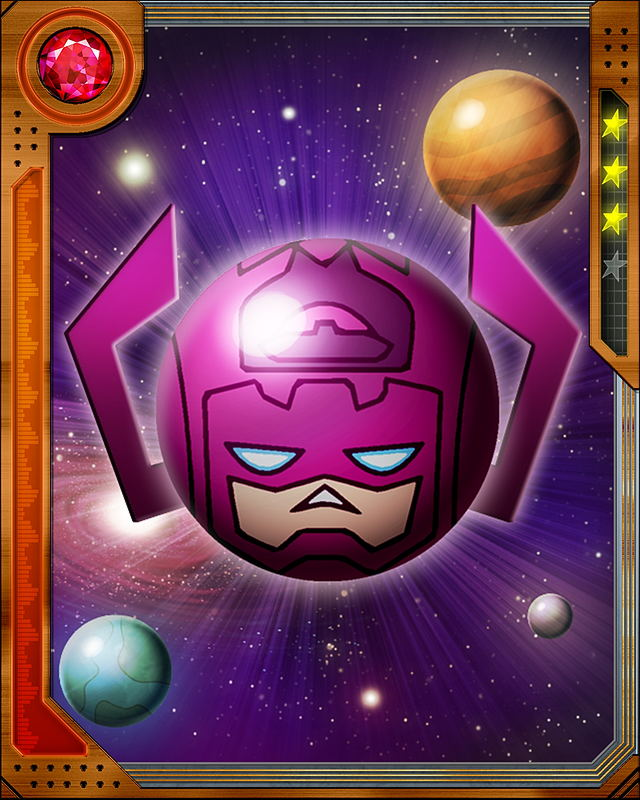 When Galactus attempts to use his Elemental Converter, he creates new variations of ISO-8. Maybe this new ISO-8 can be turned against him...