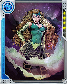 The Enchantress was one of the inverted villains Magneto recruited to fight the newly evil Avengers and X-Men during the AXIS event. They also battled the Red Onslaught and eventually succeeded in reversing the enchantment.