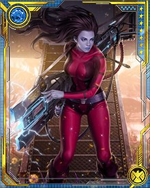 Together with her first officer, Nebula escaped the Anvil, and would show up much later as one of Gamora's Graces, an elite band of female fighters.