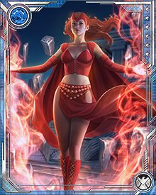 This was one of several times when Wanda's astonishing powers have turned out to be more than even she can control. That's part of the deal when you work with chaos magic, and it makes the Scarlet Witch an ally who sometimes creates unexpected complications.