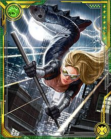 Mockingbird survived the injection of the serum, and recovered with incredibly increased strength and physical durability. She also lost none of her previous skills and abilities, and she put all of them to work in the final battle against the Dark Avengers to free Captain America.