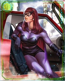 She can go from teacups and taffeta to mod missions in a new disguise quicker than most people can decide what to have for dinner. That's what makes Black Widow one of the most feared agents among S.H.I.E.L.D.'s enemies. You can never know where she is or where she'll turn up next... until she wants you to know.