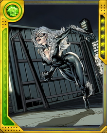 The daughter of world-renowned cat burglar Walter Hardy, Felicia trained herself in various fighting styles and acrobatics after suffering a traumatic event in college. After deciding to follow in her father's footsteps, she adopted her costumed identity as the Black Cat