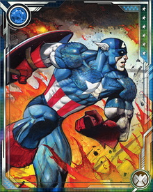 A master of hand-to-hand combat, Captain America is a formidable opponent even without wielding his shield. His experience in martial arts as well as western fighting styles gives him the offensive edge.