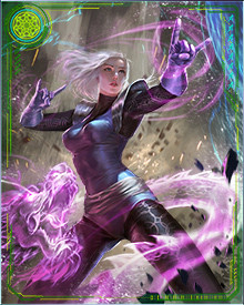 Clea's powers are vast, as befits the prize pupil of Stephen Strange. Since she is a Faltine, she has their energy sources to draw on, fueling her powers to levels that rival even the Enchantress and Strange himself.