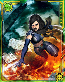 X-23 has survived everything from M-Day to Murderworld. She has been very slow to form personal attachments, and still is very difficult to get to know. It may come across as uncaring, but it's really a self-preservation instinct. After all, people who get close to Laura Kinney tend to die.