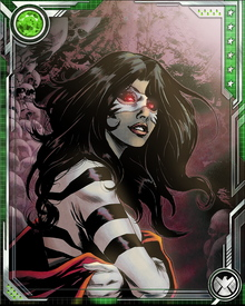 White Tiger was killed by Lady Bullseye and resurrected as a vessel of the Hand. She has remained a top Hand lieutenant since then, despite efforts to save her and return her to her former sense of right and wrong. It has also recently been revealed that Angela is a spy of the Snakeroot Clan, a demonic cult within the Hand.