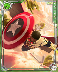Wilson opposed S.H.I.E.L.D.'s plan to create a new Cosmic Cube, and decided that Captain America should not work for the government. He became a new Captain America responsible only to the people and their ideals.