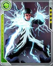 After Osborn's defeat, Striker came to the Avengers Academy and learned how to control and improve his powers over electricity. He's still a performer, though, and always tries to make everything he does look easy.