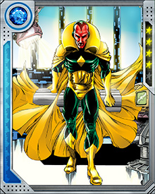 "One of Vision's combat tactics is to reach inside an opponent with a phased fist and then dematerialize it. This action causes the subject crippling pain, and can be fatal. Vision's term for it is ""physical disruption."""