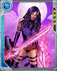 Psylocke has been experimenting with new psychic weapons: a bow and arrow, a flail, and a crossbow, among others. The more weapons she creates, the more she seems to grow addicted to killing. This makes her useful to X-Force, but at a cost to her psychological stability.