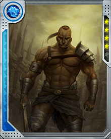 Brought up in the order of the Shadow Priests, Hiroim broke ties with the order when he was ordered to kill his son. Consigned to the gladiator pits, he formed a Warbound pact with the others who became Hulk's Warbound after they survived numerous battles together.