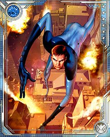 After the Civil War was over, and Norman Osborn attempted to replace the Avengers, Mr. Fantastic and the Fantastic Four found themselves in Osborn's crosshairs. He attempted to disband the group, and Mr. Fantastic embarked on a project looking for other timelines in which the Civil War had not happened.
