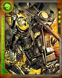 When Cul the Serpent was unleashing the Worthy on Earth, Ghost Rider found himself working with his mortal enemy Mephisto to prevent a new Ghost Rider from emerging and finishing off the world's destruction. Knowing Mephisto would betray him sooner or later, Ghost Rider retained his powers... and Mephisto kept his claim on John Blaze's soul.