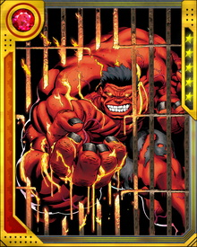 Red Hulk exists only to destroy everything in his path. He has allied himself with master villains on a number of occasions, but always with the same ultimate goal: to meet and destroy the Hulk, whom he blames for everything he hates about himself.
