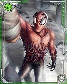 The Toxin symbiote is unlike previous generations in that it has a more nuanced personality. It argues with its hosts, and even develops relationships with them to the point of sometimes refusing to help them if they have done something that bothers it.