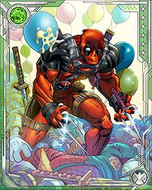 Some of the oddball Deadpools that Deadpool met on his adventures included Deadpool the Duck, Galactuspool, D.E.A.D.P.O.O.L., and Pandapool!