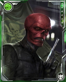 The one thing that does make Red Skull extremely dangerous is the massive amount of resources and connections he has with various groups, organizations, and other characters within the villain community.