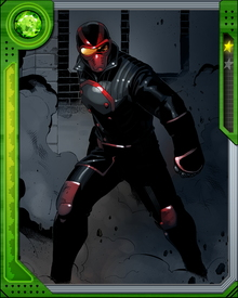 Donyell Taylor is the older half brother of the original Night Thrasher, Dwayne Michael Taylor. He originally appeared in the costumed identity of Bandit but later assumed the Night Thrasher persona after his brother's demise.