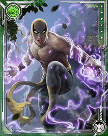 Should the power of the Iron Fist ever fail him, Danny is confident that he can overcome whatever obstacles lie in his path. Having this confidence and stability of mind makes him one of the most formidable heroes around. The Iron Fist ability insures that no enemy ever forgets that.