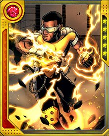 Along with their chi, Power Man has access to the abilities of those he has absorbed. His proficiency in martial arts comes from having absorbed the chi of some of Iron Fist's students.