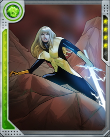Like the rest of the Phoenix Five, Magik found her powers permanently changed. Hers seem to have increased, as she can now summon and channel Limbo energies; on the down side, however, her powers to travel back and forth to Limbo are now unpredictable, and she is seeking Dr. Strange's help to understand the new status quo.