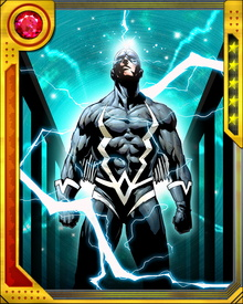 Black Bolt's primary means of communication is a limited telepathy he shares with members of his family, particularly his wife Medusa. He can also communicate telepathically via the Inhumans' dog Lockjaw.