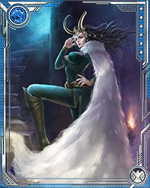 Whenever Asgard is destroyed in Ragnarok, Loki is, like all Asgardians, killed and reborn. When he was reborn this time, however, Loki was quite shocked. He was reborn into the body of a beautiful woman. This was not terribly daunting for Loki, who as the mistress of tricks, could easily adapt to any situation.