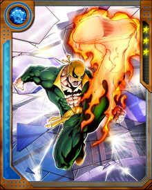 At 19, Daniel is given the chance to attain the power of the Iron Fist by fighting and defeating the dragon known as Shou-Lao the Undying.  He wins the fight and plunges his fist into its molten heart, emerging with the power of the Iron Fist.