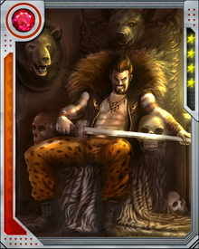 His obsession with Spider-Man took over Kraven's life, and led him to take his own life. After his resurrection, he continued to believe in the hunt as a means of proving oneself, even hunting his own family to see if they were worthy of being Kravinoffs.