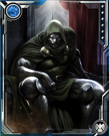 After his disfiguring accident, Victor Von Doom become Doctor Doom.  He would go on to menace those he felt responsible for his accident—primarily Reed Richards of the Fantastic Four.