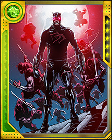 What you don't know is that I've had a change of heart. Yes, I'm Daredevil. But I am now the leader of the Hand, and I view transgressions against my domain a little differently. I am no longer simply the man without fear. I am also the man without mercy!