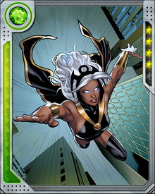 From a homeless orphan, Ororo has grown into a leader of mutants, with a strength of character and resolve to match her nearly limitless powers over the weather.