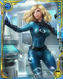 Sue Storm is the glue that holds the Fantastic Four together. She's the wife, sister, and best of friend to her teammates. Without her, the Four would quickly fall into disarray. The Fantastic Four is her family, and she'll do anything to protect them.