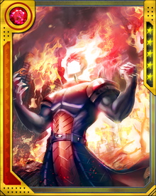 Dormammu is extremely intelligent, with tremendous knowledge of the mystic arts. He is also overwhelmingly arrogant. He doesn't respond well to confusion or plans gone awry.