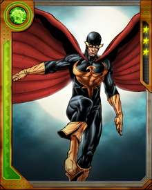 After dark, Nighthawk possesses superhuman strength and healing abilities. At one time he was incapacitated during the day, but he has since become able to function normally while the sun is up.