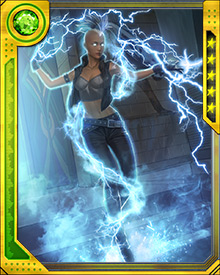 Storm's latent magical abilities stem from one of her matrilineal ancestors, Ayesha, who was for a time Sorceress Supreme. Storm has not explored these powers or put them to use in any real way.