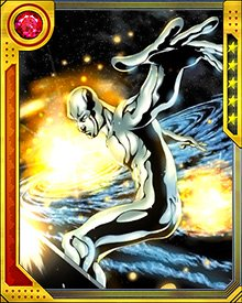 When he is fully empowered, the Silver Surfer wields the Power Cosmic so strongly that he can destroy entire planets if he chooses. The Power Cosmic can also be used to heal both individuals and large groups of people. It is the living force of the Cosmos, and he takes this responsibility very seriously.