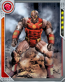 As a cybernetic organism, Deathlok possesses a number of superhuman abilities, including superhuman strength and speed, enhanced durability, regeneration, and built-in weapons systems such as repulsors and laser claws.