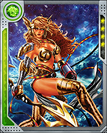 Angela possesses incredible strength and endurance. She has gone toe-to-toe with the God of Thunder, Thor. She can fly and exist without aid in the vacuum of space. She is a skilled warrior.