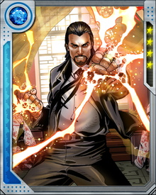 In the Mandarin's most recent battles against Tony Stark, he has allied with some of Stark's other deadly enemies, including Ezekiel Stane and Justin Hammer.