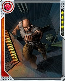 Forced underground during Civil War, Luke Cage joined forces with other unregistered heroes and Nick Fury's Secret Warriors to fight against Osborn's Dark Avengers during the Siege of Asgard.