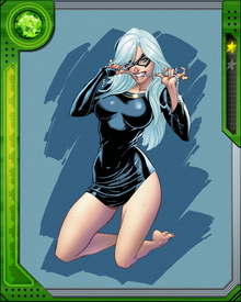 Cat burglar Felicia Hardy first donned the guise of the Black Cat to break her father out of prison. After falling in love with Spider-Man she proved herself to be a true crime fighter.