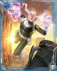 Phobos sat on the sidelines for man of the Secret Avengers missions, but he eventually joined the team in earnest. Wielding a sword called Grasscutter, he challenged the villain Gorgon, who himself used the blade Godkiller. Although Phobos held his own in the fight, he was eventually slain by Gorgon.