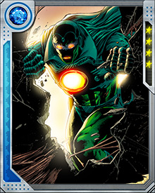 The Super-Adaptoid is also able to form itself into a composite of several different scanned people, with all of their powers and selected physical traits. Its memory contains templates of everyone it has ever scanned, ready to be mixed and matched with new targets.