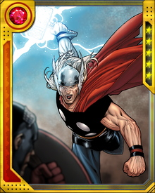 During Civil War, Tony Stark created the cyborg Ragnarok from a sample of Thor's DNA. When Ragnarok was unleashed during the Civil War's climactic battle, he killed Goliath before Captain America took him down. It remains one of the great tragedies of Civil War, and one of Tony Stark's most costly mistakes.