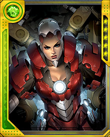 Unlike Iron Man, Rescue has no overt weaponry. All of its systems are designed for defense and emergency assistance. Still, rescue possesses great strength, and she can hold her own in a fight when she must.