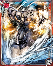 The Silver Surfer's board is a combination of ride, shield, and weapon. Though not indestructible—he has created new ones on numerous occasions—it is nearly as durable as Norrin Radd himself. He can control it even across huge distances.
